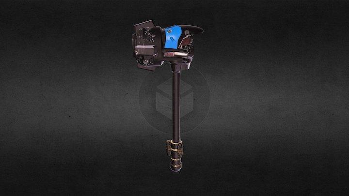 Reinhardt hammer - Overwatch 3D Model