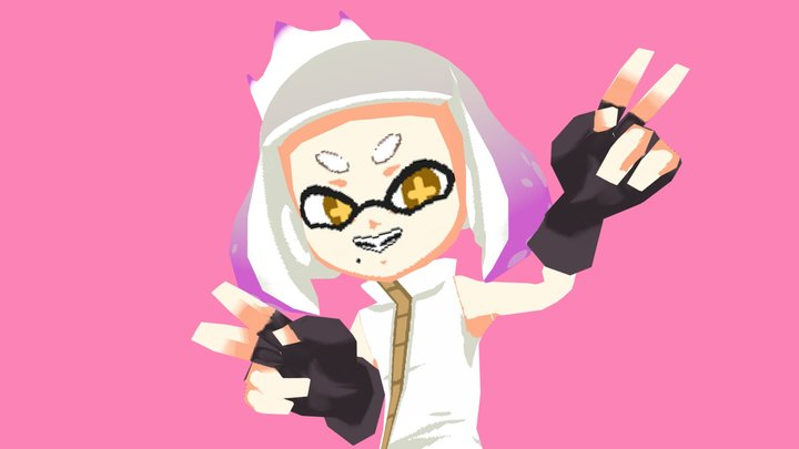 Pearl (Off the hook) 3D Model
