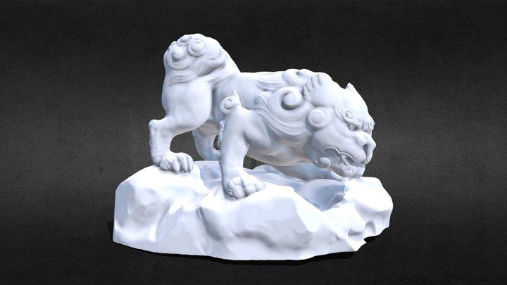 Foo Dog 3D Model