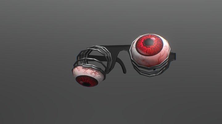 Toy glasses 3D Model