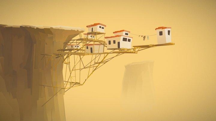 Living on the Edge 3D Model