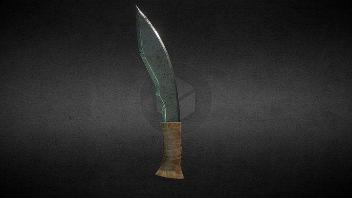 [For Honor] Shaman Dagger [Download Game-ready] 3D Model