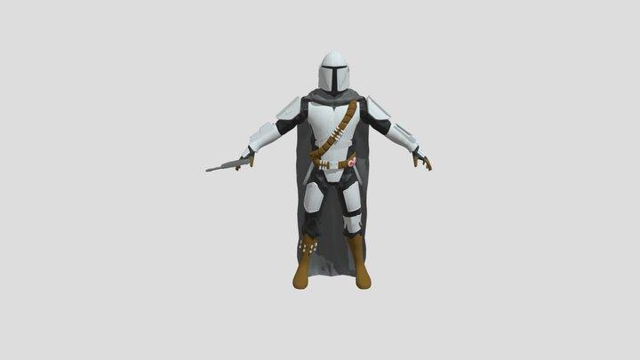 The Mandalorian For User 3D Model