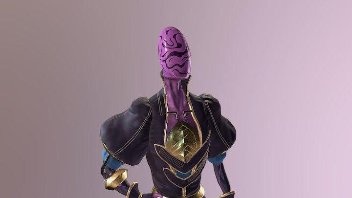 The Baron 3D Model