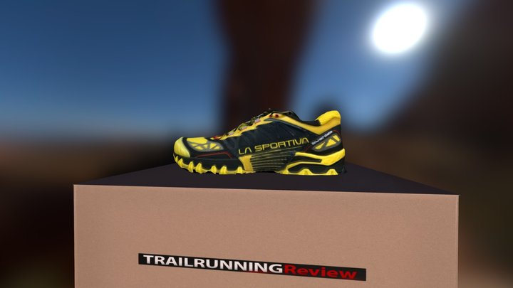 shoe-trail-running 3D Model