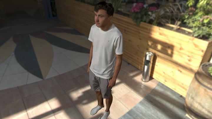 Male Full Body Standing 3D Model