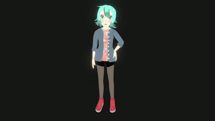 Kasumi Mori 3D Model