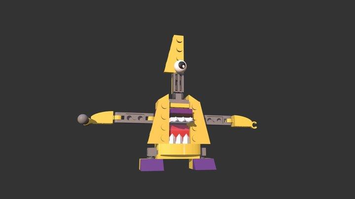 Mixel Jamzy 3D Model