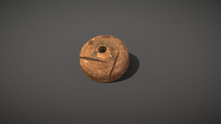 Roman Spindle Whorl 3D Model