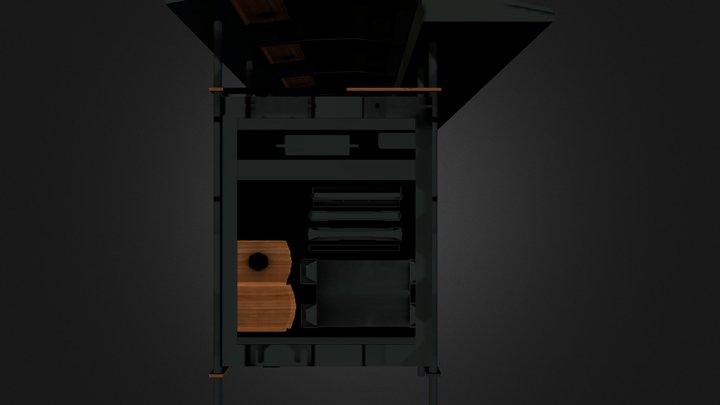 SwedishBusStop 3D Model