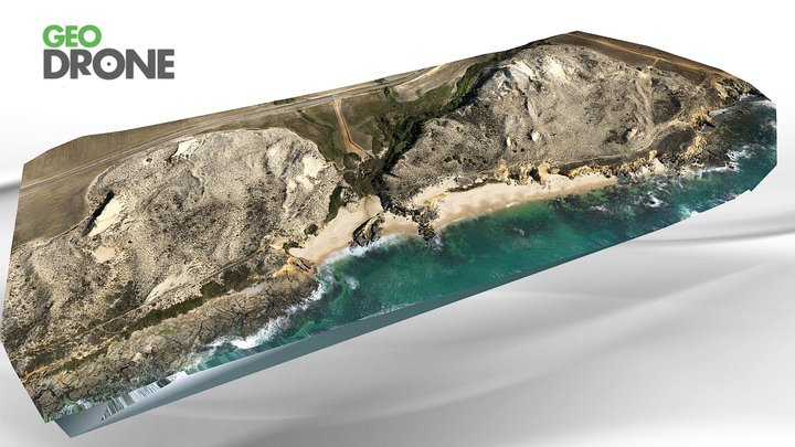 Praia de Porto Covo - 3D 3D Model
