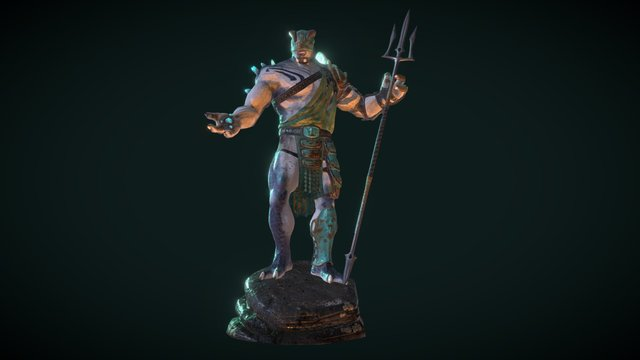 Cyclops Retiarius 3D Model