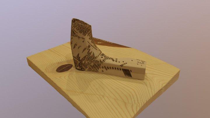 Carbon Fiber House 3D Model
