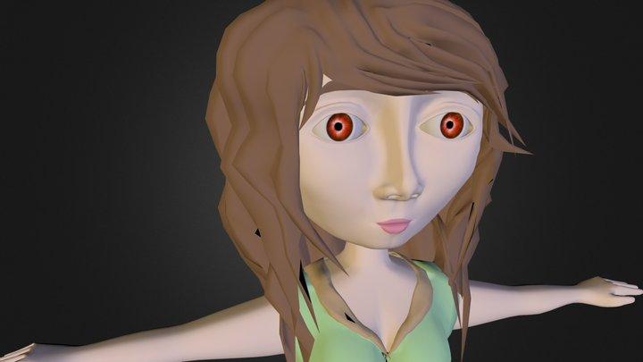 personaje en maya 3D Model