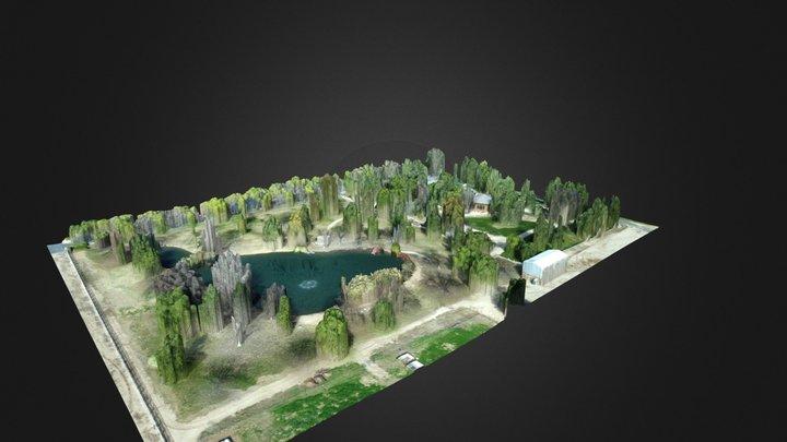 Hawk Ranch Wedding Venue 3D Model