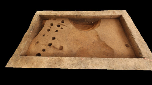 Or11 Trench With Excavated Features 3D Model
