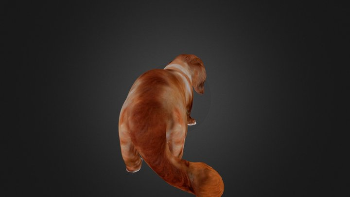 Dog6 Print Ready98mm 3D Model