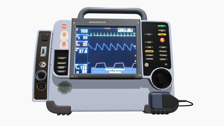 Defibrillatore Medical 3D Model