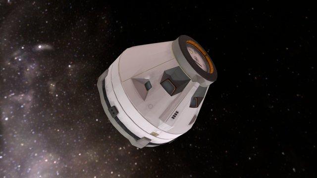LBSI Kappa NK-V 'Leyla' Serie SX (KSP Mod) 3D Model