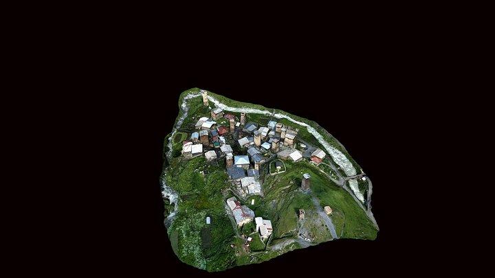 Chajhashi village 3D Model