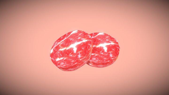 Meat - 11th Day Challenge, #3December2020 3D Model