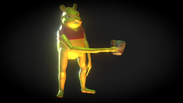 Bee Syrup 3D Model