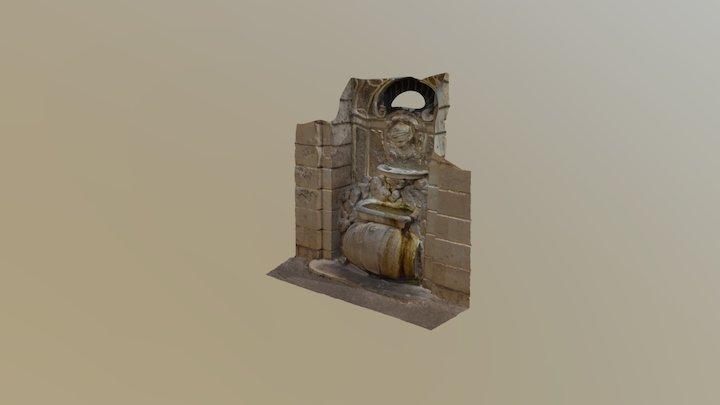 Fontana della Botticella - Roma 3D Model