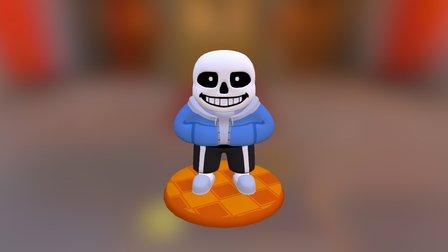 Sans Figurine (UNDERTALE) 3D Model