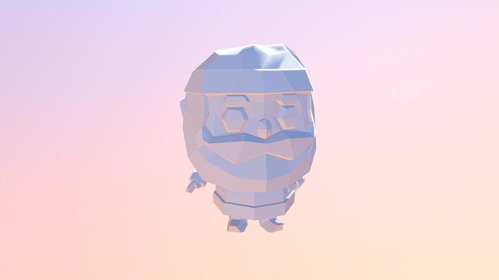 Santa_01 3D Model