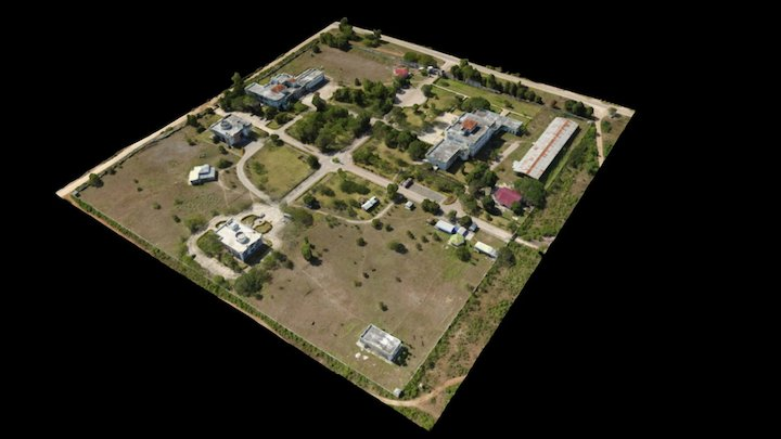 University Campus in Zanzibar 3D Model