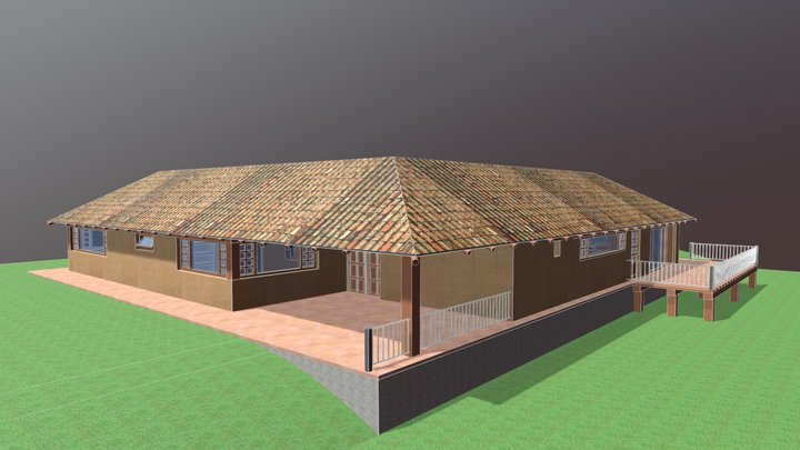 Casa Recreo Boyacá 3D Model