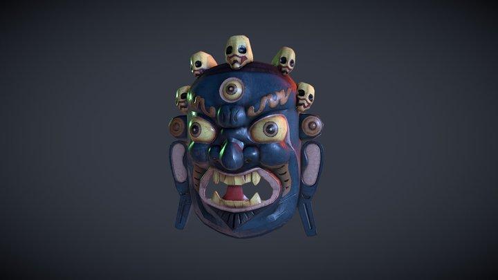Mahākāla Mask 3D Model