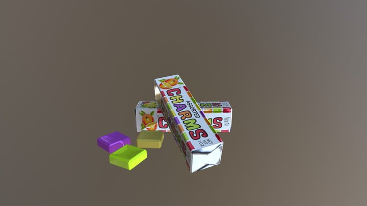 Chams Candy 3D Model