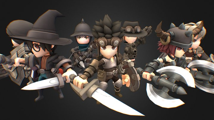 Hero Series - Expeditions 3D Model