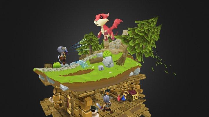 VG Remix - Skyrim 3D Model