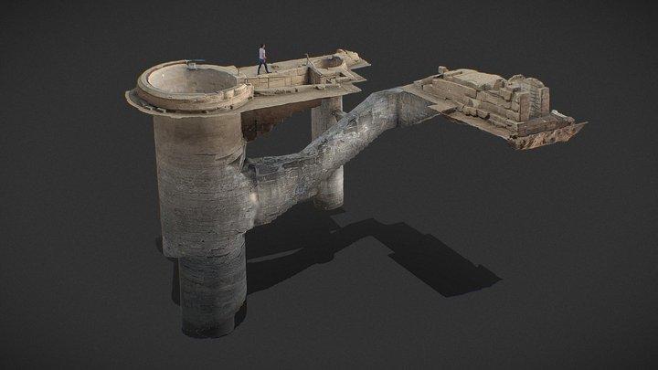 Nilometer_KomOmbo Temple_UpperEgypt 3D Model