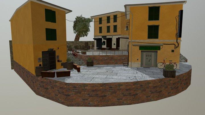 City_Scene Vandamme Guust 3D Model