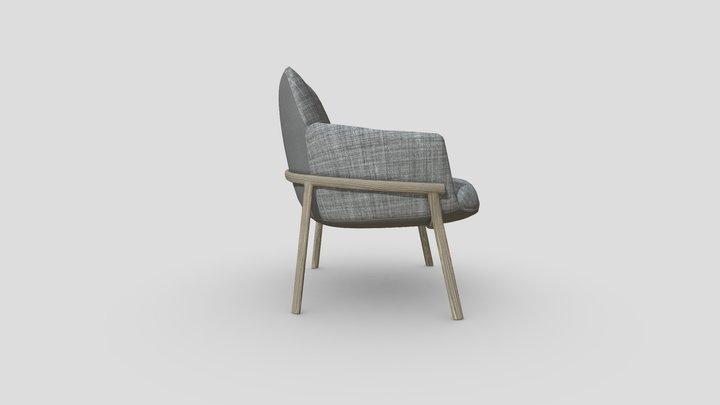 Designer Chair 01b 3D Model