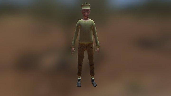 Niño 3D Model