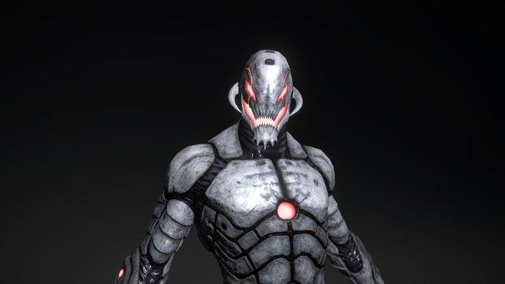 Symbiotic Ultron 3D Model