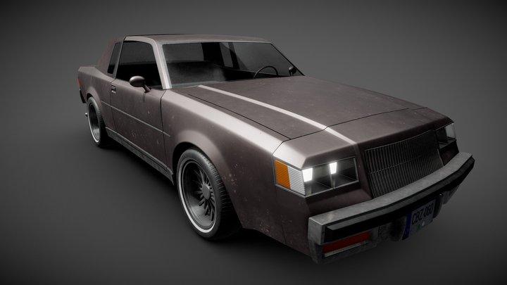 1984 Buick Regal 3D Model