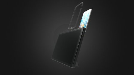 Mirror Tablet 3D Model