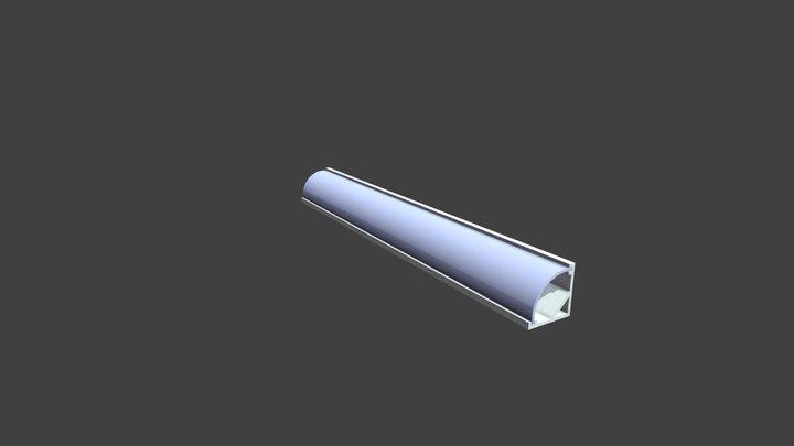 Profilé 45° 3D Model