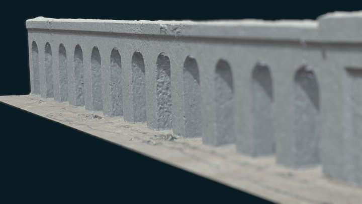 1938 Bridge -- WIP -- Photogrammetry (Low Poly) 3D Model