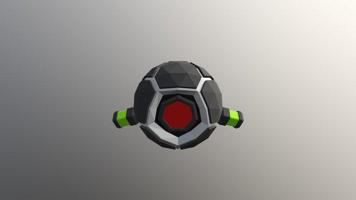 Scout bot 3D Model