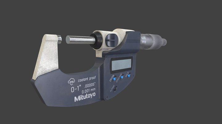 Micrometer 3D Model