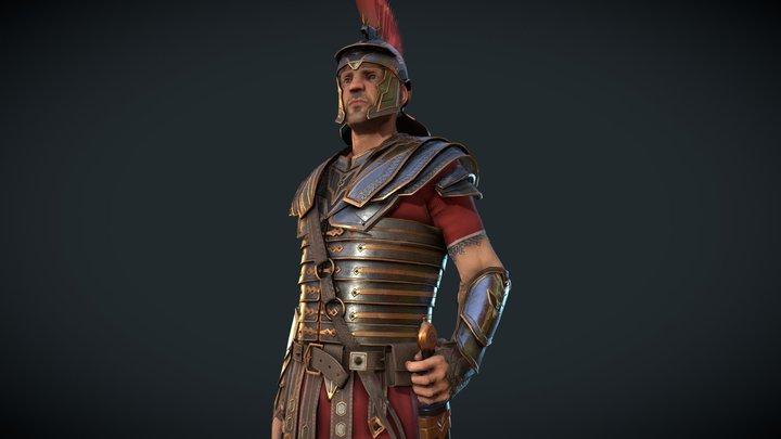 Marius Tier 2 armor 3D Model