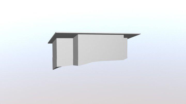 Perustus ja rakennus 3D Model