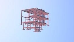3D Estrutural Cinthia - CCJ Engenharia 3D Model