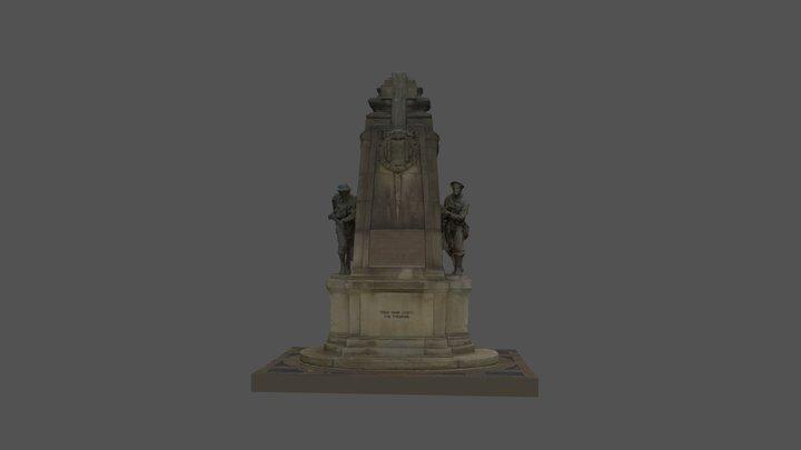 Bradford War Memorial 3D Model